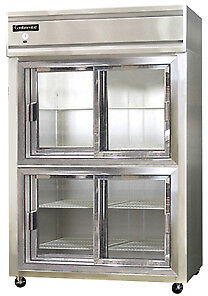 Continental Designer Line Refrigerator Two-Section 2R-SA-SGD-HD