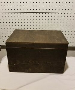 Antique Unique Winchester Repeating Arms Co. Wooden Ammo Box wStackable Drawer