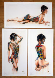 SANDRA CHEVRIER  RARE Tryptich  Complete Set or by Unit (see pics)  SN of 100