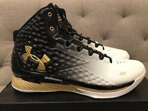 Under Armour Curry 1 MVP DS Brand New Size 12 1258723-009 Stephen Curry UA