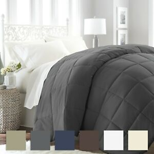 Premium Goose Down Alternative Comforter 6 Classic Colors Simply Soft