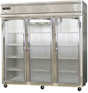 Continental Designer Line Refrigerator Two-Section 3R-SA-GD