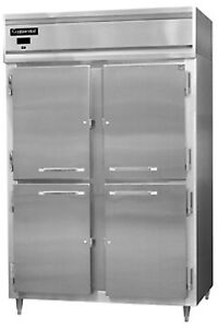 Continental Designer Line Freezer Two-Section DL2F-SS-HD