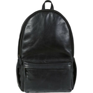 NEW ONA THE LEATHER CLIFTON CAMERA EVERYDAY BACKPACK BLACK FOR DSLR 4-6 LENSES