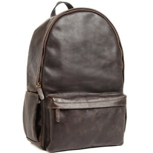 NEW ONA THE LEATHER CLIFTON CAMERA EVERYDAY BACKPACK DARK TRUFFLE FOR DSLR BAG