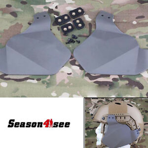 Tactical Emerson Fast Helmet Airsoft Ears Covers Protector for Rail System FG