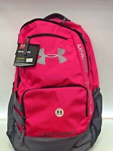 Under Armour Team Hustle Backpack 1272782 PINK BRAND NEW