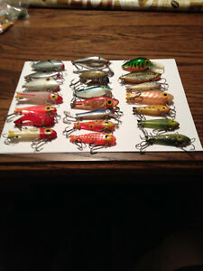 Vintage Bingo Lures ( Awesome Lot )