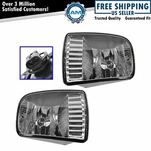 Fog Driving Lights Lamps Left LH and Right RH Pair Set for 00 02 Lincoln LS $84.07