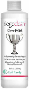 763L - Siege 12 Oz Silver Polish, Earth Friendly, Made in USA