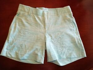 NWT $74.99 Womens Under Armour UA Golf Shorts Heat Gear Fitted 5