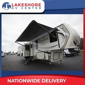 Keystone Montana 3791RD 5th Wheel New and Used Travel Trailers for sale RVS