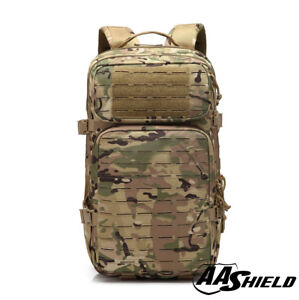 AA Shield Tactical Backpack Military Backpack Outdoor Large Travel Bag MC