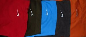 Lot 5 Nike Dri-Fit Fit-Dry Mens Polo Shirts L Large