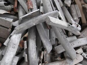 45#  USED WHEEL WEIGHTS LEAD for casting LEAD 45#