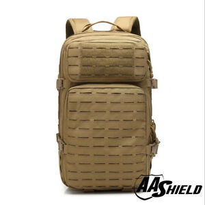 AA Shield Tactical Backpack Military Backpack Outdoor Large Travel Bag Khaki