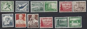 GERMANY 1940's 60's COLLECTION OF HUNDREDS MINT NEVER HINGED & HINGED SOME IN