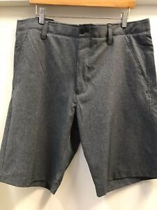 Under Armour Mens Match Play Vented shorts size 36 GRAYBLACK
