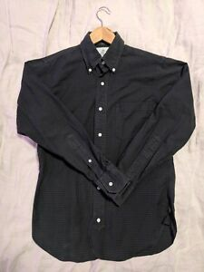 Brooks Brothers Black Fleece Thom Browne Cotton Sport Shirt Size BB0 36-38