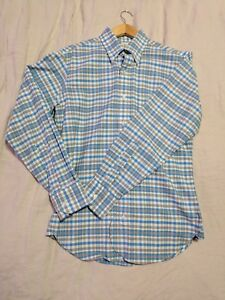 Brooks Brothers Black Fleece Thom Browne Cotton Sport Shirt Size BB1 38-40