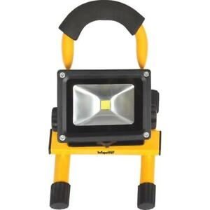 Infapower F048 10 Watt COB LED Portable Worklight Rechargeable with Carry Handle