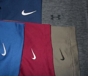 Lot 5 Nike Dri-Fit Fit-Dry Under Armour Mens Polo Shirts 2XL XXL XX Large