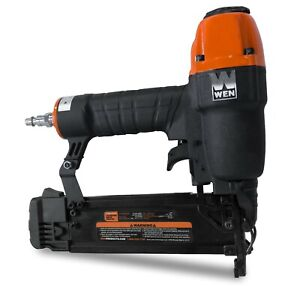 WEN 61721 18-Gauge 38-Inch to 2-Inch Pneumatic Brad Nailer with 2000 Nails $40.02