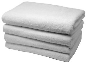 Classic 100% Turkish Cotton Bath Towel Set 28 x 60 inches White XL Oversized