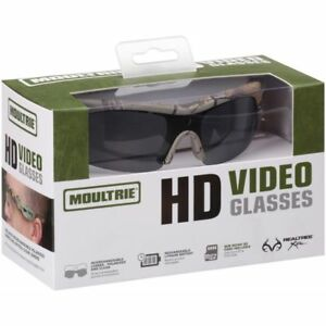 Moultrie HD Camera Video Shooting Hunting Fishing Scouting Sun Glasses MCA-13039