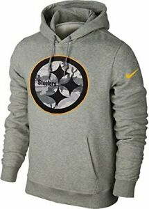 Nike Pittsburgh Steelers Fly Over Camo Logo Men's Pullover Hoodie NEW