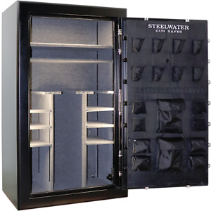 HD724228 Steelwater Home Hunting Safes 2 hr Fire Gun Rifle Safe 45 LED Keypad