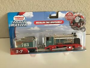 Trackmaster-Thomas & Friends- MERLIN THE INVISIBLE- motorized-NIP-free shipping
