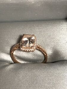 rose gold ring size 7