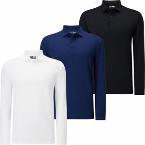 Callaway Golf 2018 Opti-Dri Essential Long Sleeve Mens Golf Polo Shirt