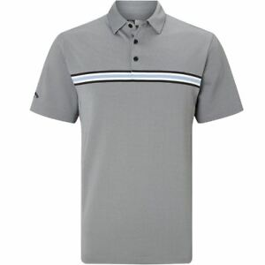 Callaway Golf 2018 Mens Opti-Dri Oxford Golf Polo Shirt