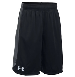 Under Armour Eliminator Shorts for Boys Size Small (78) in Black Graphite