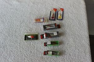 Lot of 8 fishing lures RAPALA Rebel Tadpolly Wordens