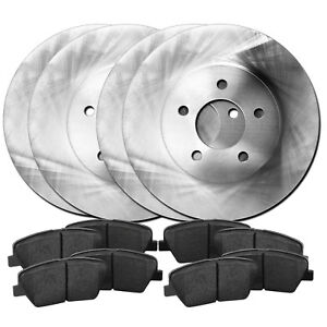 Full Kit Reliance Replacement Brake Rotors and Ceramic Brake Pads RBBC.33087.02