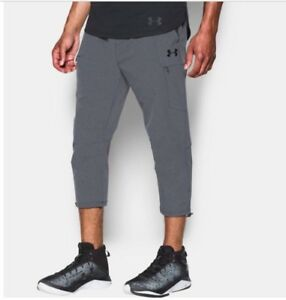 UNDER ARMOUR MEN'S 3XL TALL UA PURSUIT SKIMMER PANTS GREY TAPERED NEW $65 MSRP