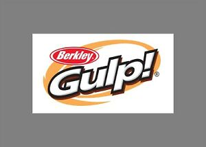 Berkley Gulp decals stickers bass boat tournament sponsor fishing baits lures