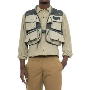 New SIMMS Headwaters Mesh Fly Fishing Vest $130 All Sizes Sand DWR XLXXL