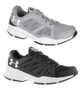 UNDER ARMOUR Men's Leather & Mesh Breathable Running Sneakers Med & Extra Wide