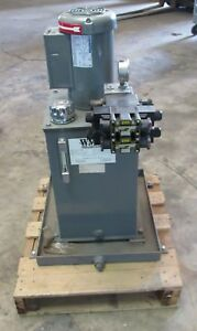 WMH FLUIDPOWER H100155 10GAL. CAP. 1.5HP 2.9GPM HYDRAULIC POWER PUMP