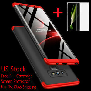 SLIM SHOCKPROOF Case+Screen Protector For Samsung Galaxy Note 98 S9 S10 5G Plus