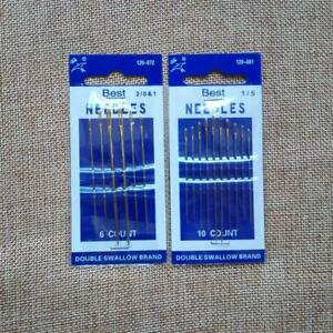 Leather Sewing Needles Set For Leather Craft DIY Sew Tool 120 072 120 081 Models C $1.91