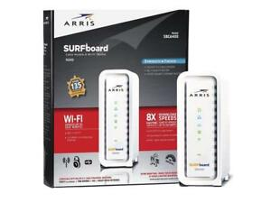 SURFboard N300 DOCSIS 3.0 Cable Modem Router Certified Comcast Xfinity iPv6 New