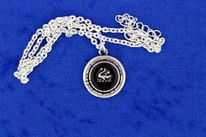 Emma Swan Necklace or Keychain Once Upon a Time TV Inspired SilverBlack Color