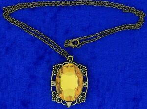Bonnie Bennett Necklace or Keychain Yellow Color Vampire Diaries TV Inspired