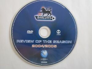 Barclays English Premier League review of the season 2004 2005 single disc