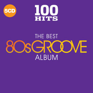 Various Artists 100 Hits: The Best 80S Groove Album New CD Boxed Set UK I